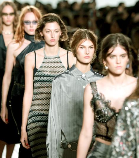 米蘭時裝週模特兒走秀