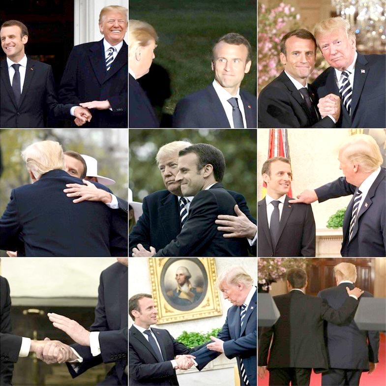 法國總統馬克宏再訪美國