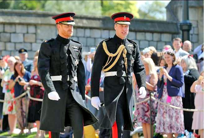 威廉王子與哈利王子