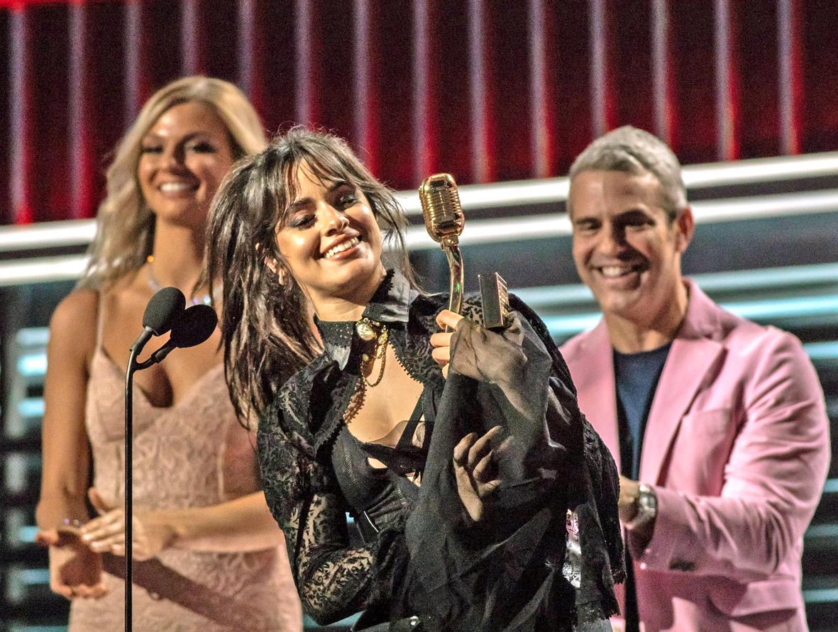 告示牌成就獎Camila Cabello
