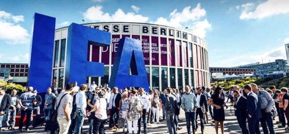 柏林消費電子展場外一景