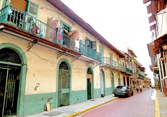 舊城區(Casco Viejo)集結富裕與貧窮,華麗及頹圯緊密共生為世界文化遺產