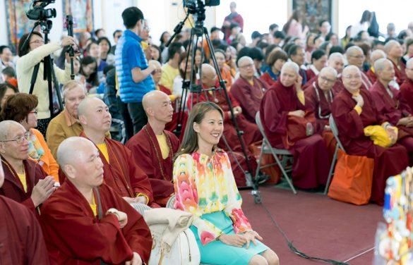 前排左2貴賓廖東周大使夫人Judy師姐