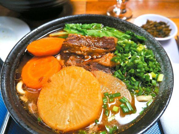 到北京來碗台灣牛肉麵讓人有思鄉情懷
