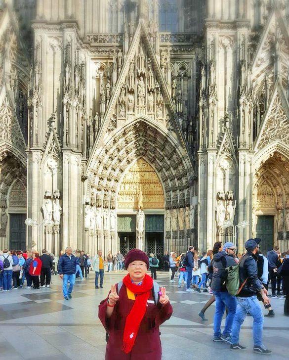 蓮花慧君上師參訪科隆大教堂