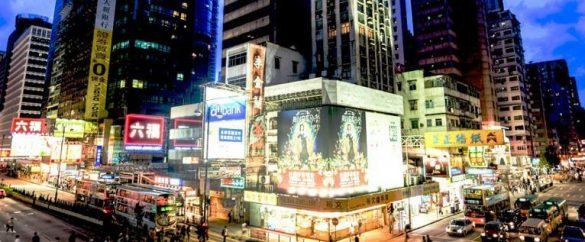 銅鑼灣遍布購物商場和百貨商店